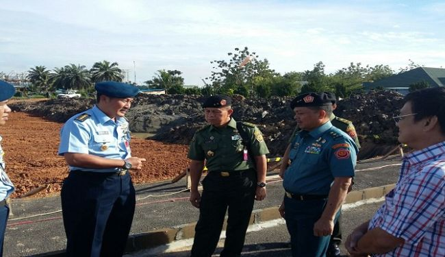 Senior Officers of Ministry of Defense Inspected Construction Projects in West Kalimantan 1