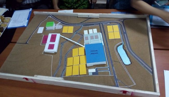 Masterplan of Urban Forrest and Sport Center of University of Indonesia at Depok 6