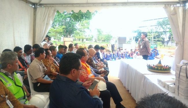 Groundbreaking of Foundation Work of Mandiri University at Wijayakusuma Jakarta 1
