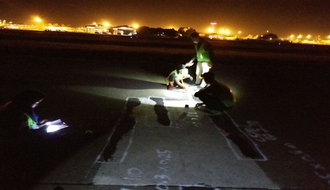 The Study & Survey on Southern Runway & Taxiway Slab of Soetta Airport<br> 3